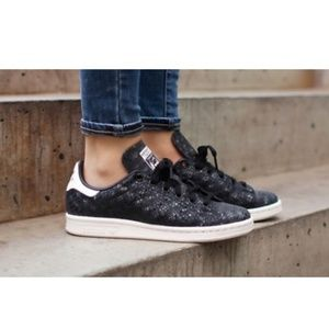 Adidas Stan Smith Python Black